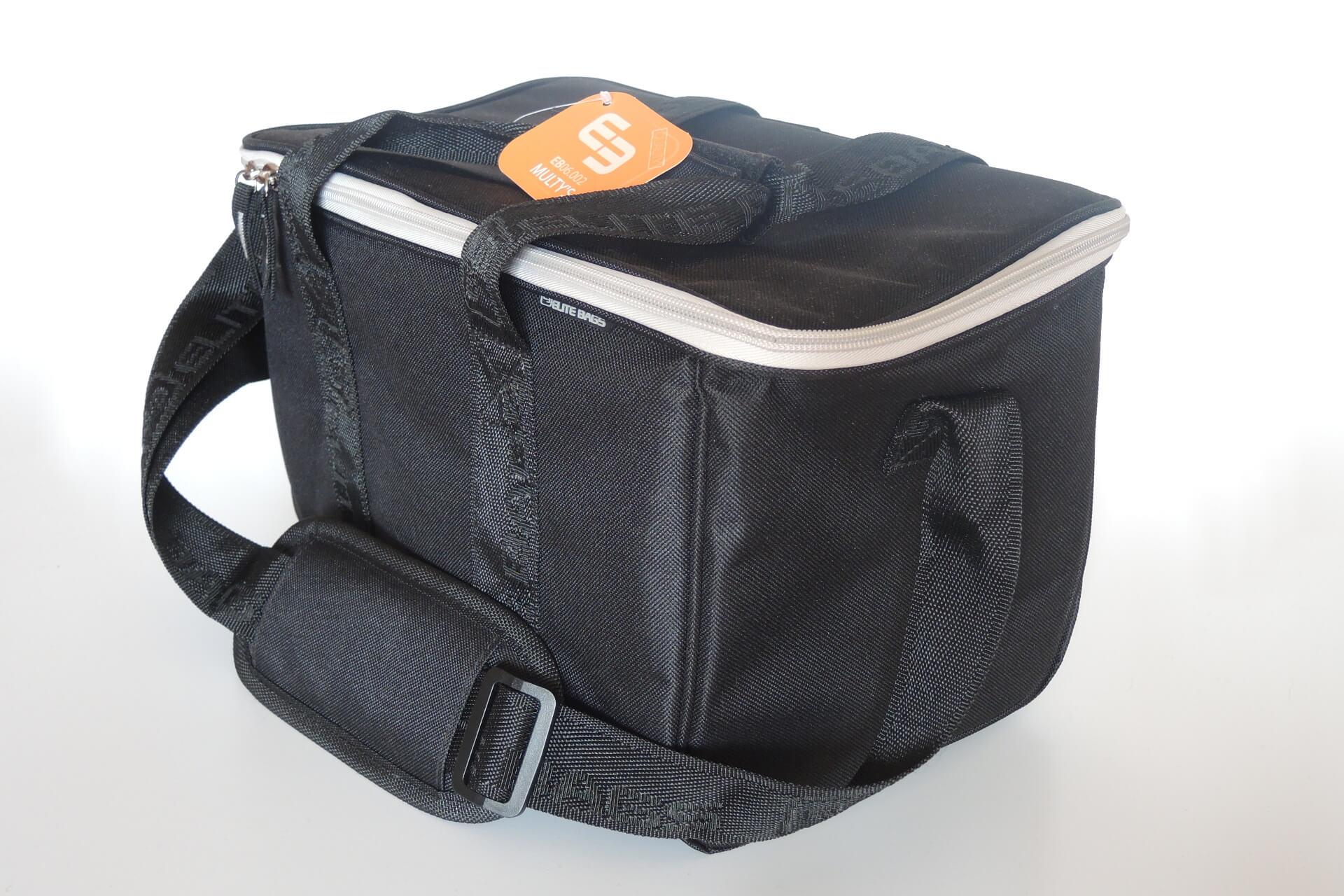 Plegetasche für die ambulante Pflege von Elite Bags - klein -schwarz