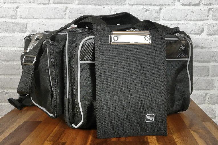 Klemmbrett Arzt DIN A5 schwarz arzttasche-check