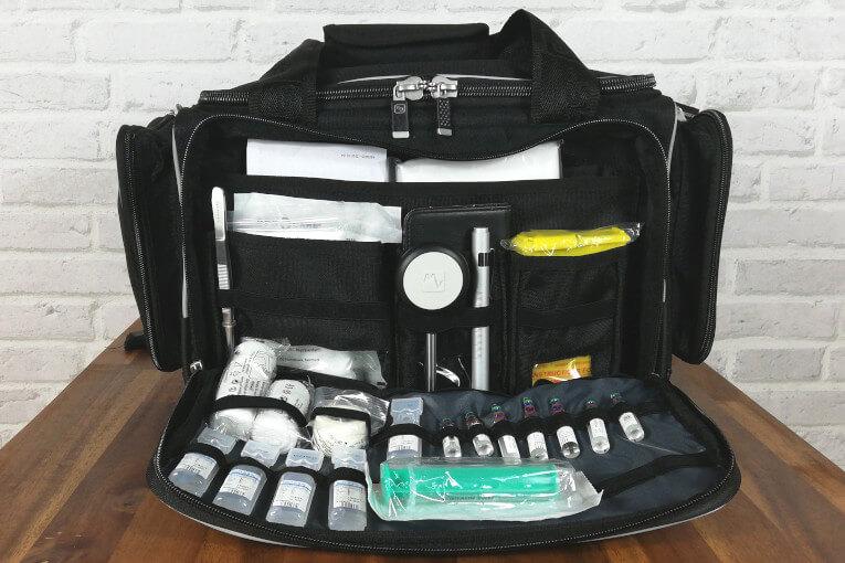 MEDIC'S Softbag Elite Bags Vordertasche gefüllt