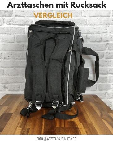 Arzttaschen mit Rucksack - Vergleich