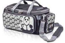 Panda Softbag Arzttasche mit Rucksack, verstaubar